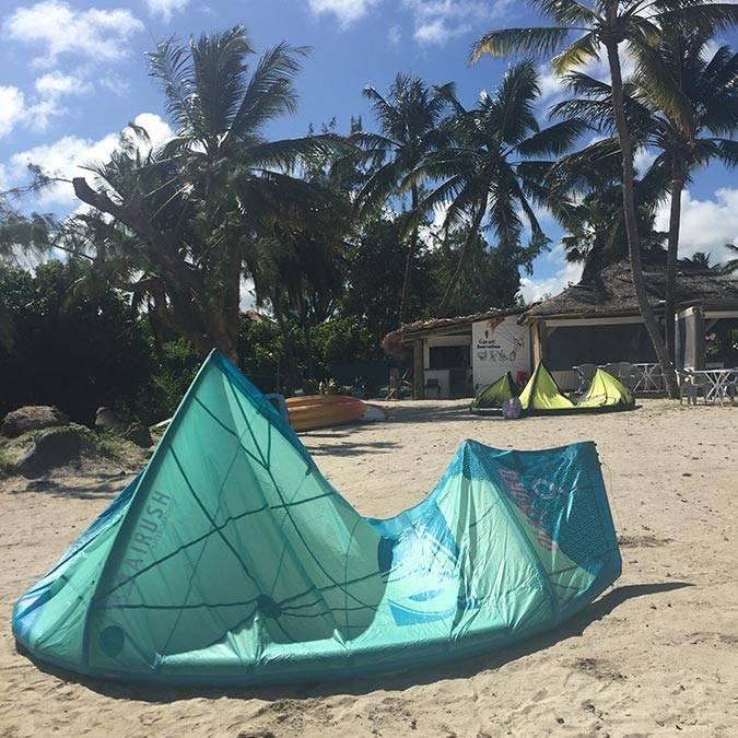 location matériel kite surf martinique